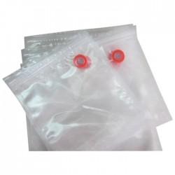 Sacs sous vide gauffres zip 26 x 35 cm - boite de 20 sacs -  Le Pratique