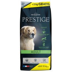 Pro nutrition prestige adult sac de 15 + 3 kg gratuits