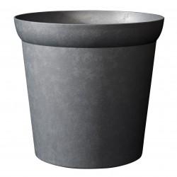 Pot élément edge - Diamètre 30cm - ardoise
