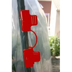 tuteurs Clip ø16mm (10) rouge