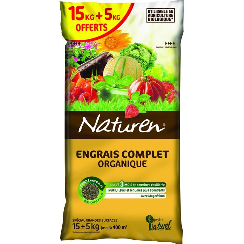 Engrais Complet Naturen 15+5 kg